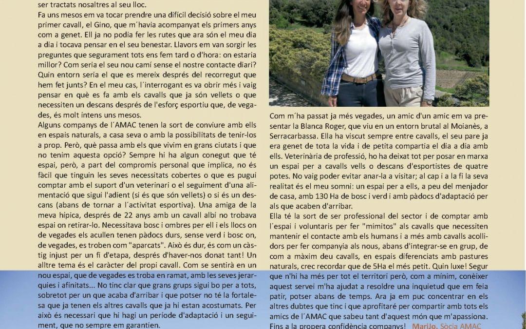 Aparecemos en la revista Hípica Catalana!